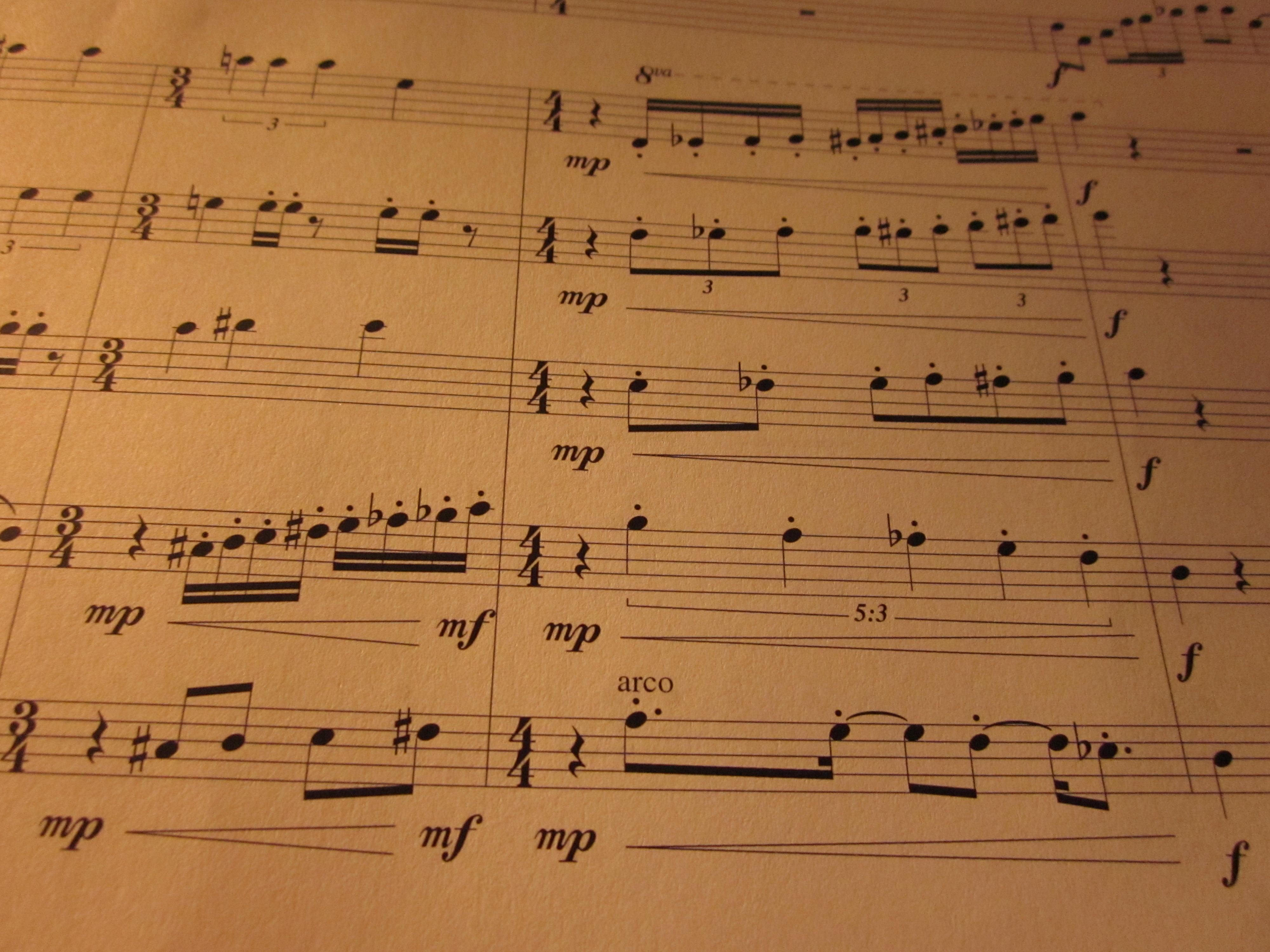 Buller flute concerto: excerpt