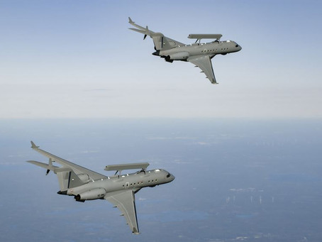 Saab receives follow-on contract for GlobalEye advanced airborne surveillance system