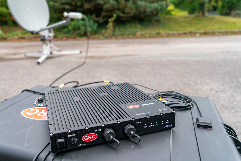 GRC release of the GRM 950 outdoor iDirect satellite modem for use in challenging environments