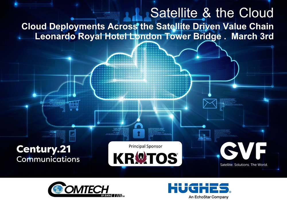 Satellite & the Cloud 2020 diverse & innovative: leading speaker line-up finalised by GVF-C21
