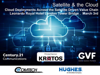 Satellite & the Cloud 2020 diverse & innovative: Leading speaker line-up finalised by GVF-C2