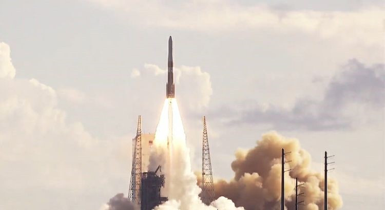 Northrop Grumman supports ULA Delta IV Medium+ launch of GPS III SV02