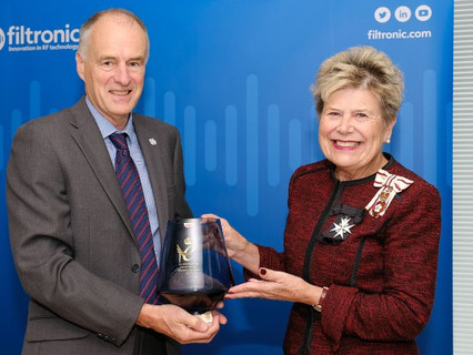Filtronic formally presented with 2021 Queen's Award for Enterprise, International Trade