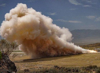 Northrop Grumman successfully completes first qualification test of new rocket motor for United Laun