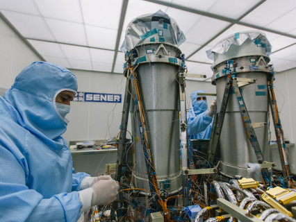 SEOSAT/INGENIO satellite begins its journey to Kourou