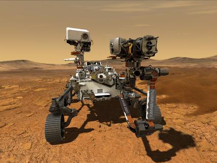 Northrop Grumman Technologies support NASA's Perseverance Mars Rover