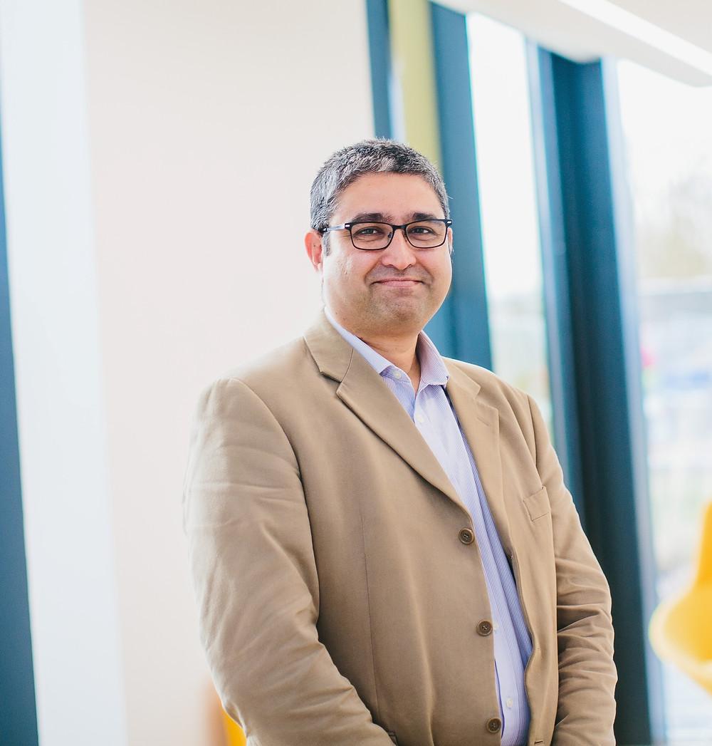 Dr Mehul 'Micky' Mehta, CEO of Celestia UK