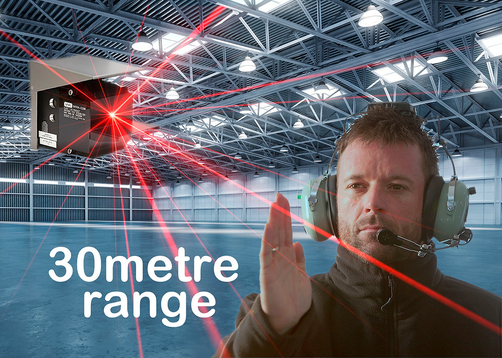 Link Microtek unveils extended-range version of secure optical mobile local communications system