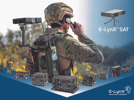Elbit Systems launches E-LynX-Sat - a portable tactical SATCOM system