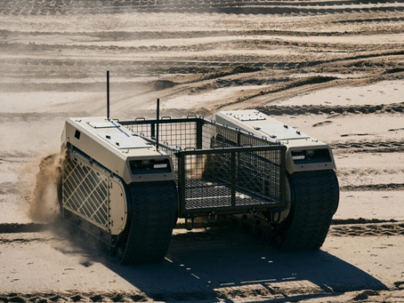 Estonia led consortium to start the development of the European standard unmanned ground system