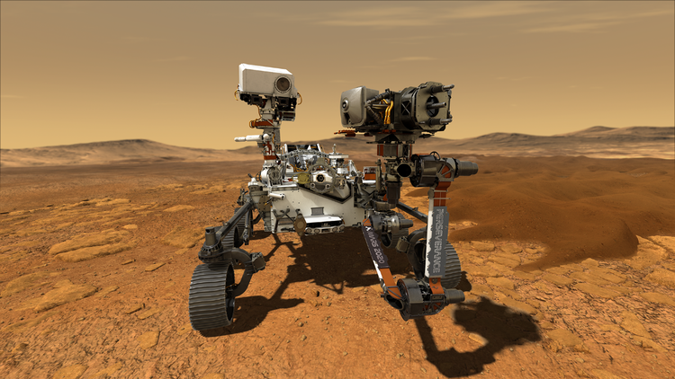 The Perseverance Rover will feature Northrop Grumman's LN-200S inertial measurement unit. Photo courtesy of NASA/JPL-Caltech.