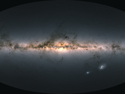 ESA sees Gaia's new data take us to the Milky Way's anticentre and beyond