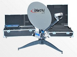 iNetVu® Flyaway Antenna System FLY-74