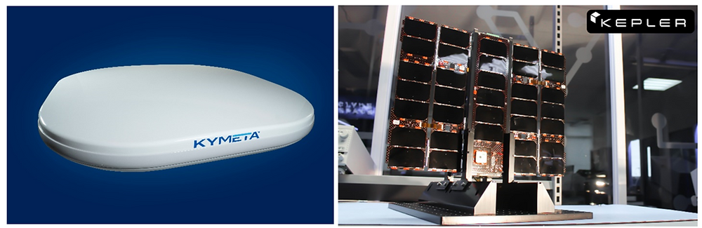 Kymeta & Kepler Communications announce MOU to promote the delivery of Kepler LEO Satellite Services using the new Kymeta™ u8 Electronically Steered Antenna