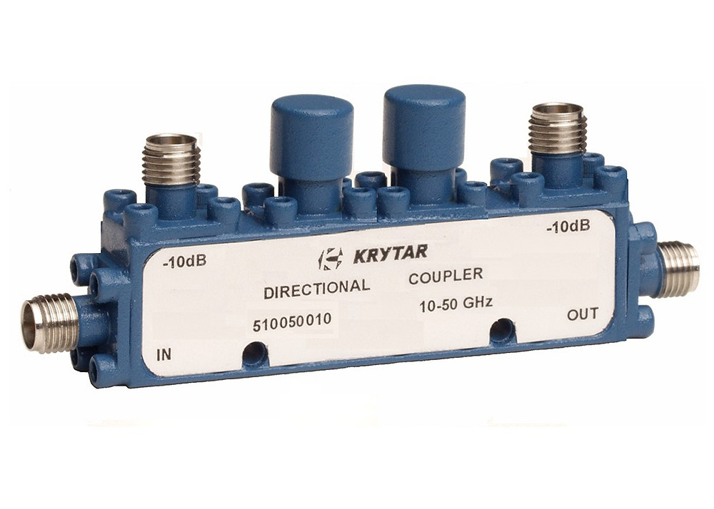 KRYTAR announces new dual directional coupler with 10 dB coupling over 10 to 50 GHz frequency range