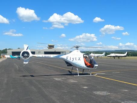 Thales has begun the flight test campaign for the FlytX avionics suite