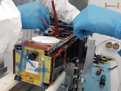 Sateliot prepares with Open Cosmos to launch its first nanosatellite on 20 March