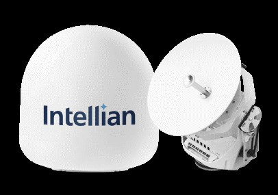 Intellian's new v45C antenna qualified for Intelsat FlexMaritime network