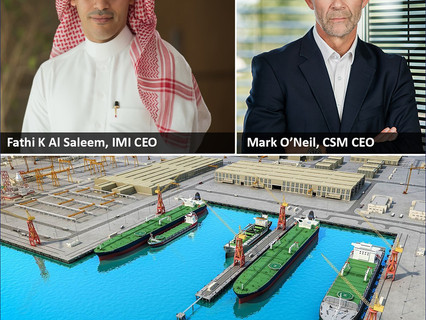 International Maritime Industries and Columbia Shipmanagement sign agreement for cooperation