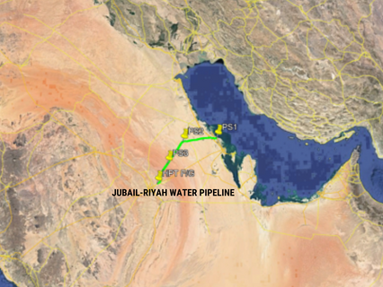 Optilan to deliver comms & security systems on the Jubail-Riyadh water pipeline in Saudi Arabia