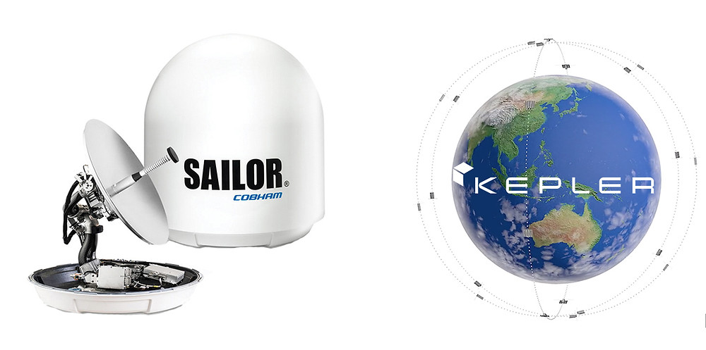 Kepler Communications and Cobham SATCOM form strategic partnership for high-capacity satellite data service delivery