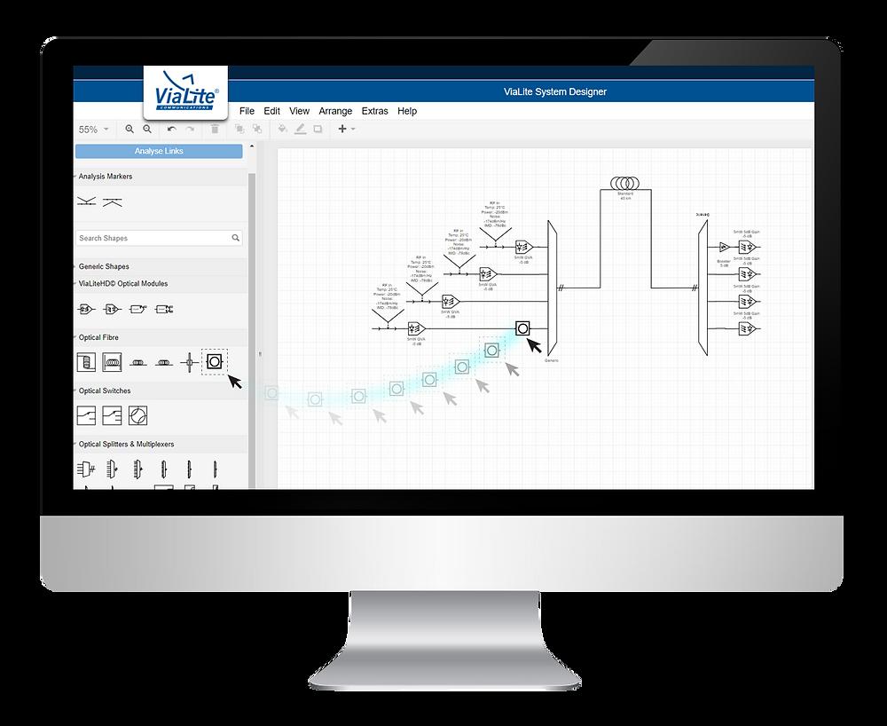 Design your Own RF over Fiber System Online