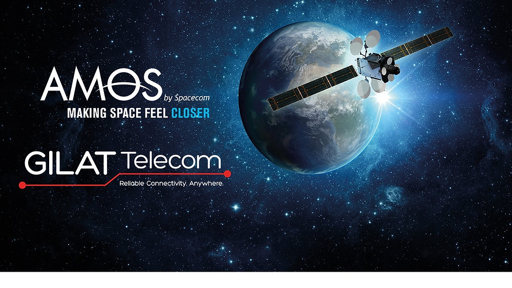 Spacecom and Gilat Telecom join forces to improve satellite services in Africa providing advanced connectivity and SD WAN solutions for telecom customers