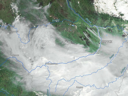 Express-AM5 satellite operated by RSCC is used in restoring connectivity in wildfire-ravaged Yakutia