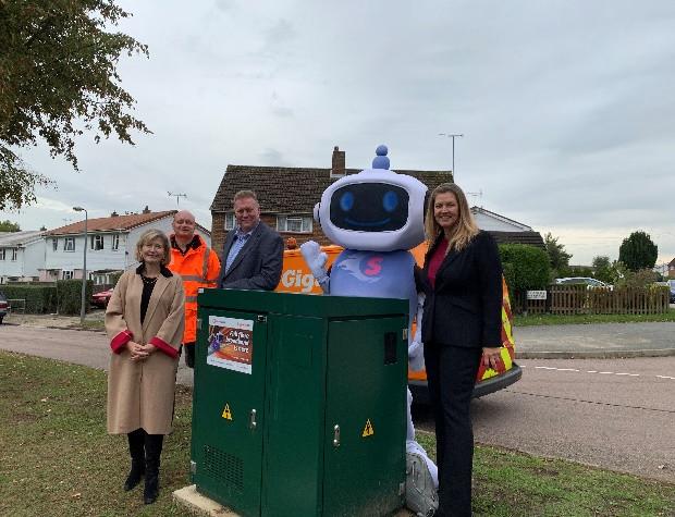 Ultrafast broadband from Gigaclear arrives in Braintree District