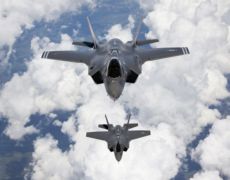 KONGSBERG awarded contract for air-to-air pylons for F-35 program worth 113 MNOK