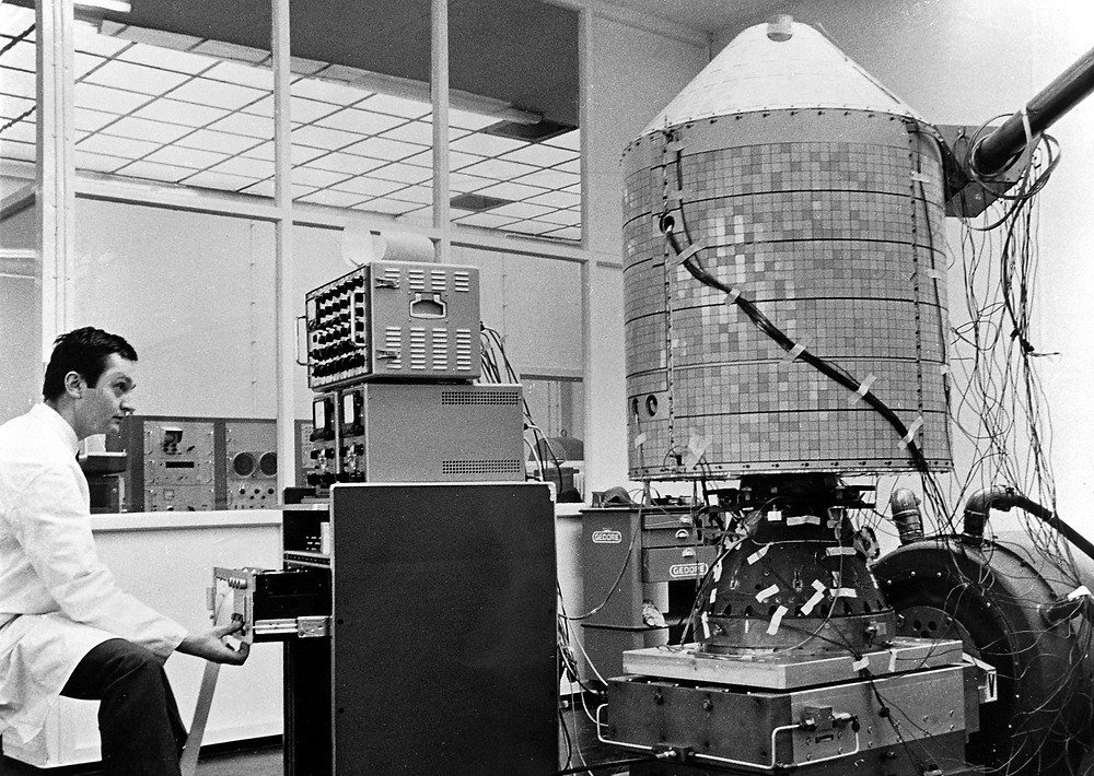 Fifty years ago: the successful launch of Airbus' Azur research satellite