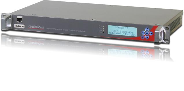 ENENSYS adds satellite input to its Teamcast Vortex II ATSC 3.0 high-end exciter