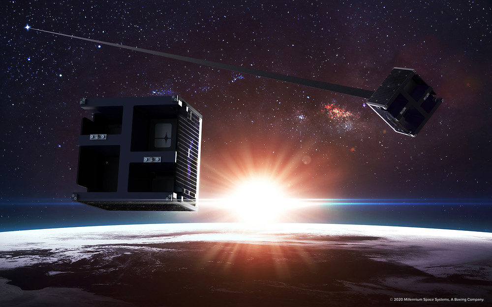 Millennium Space Systems completes DRAG RACER satellite qualification, preps for spacecraft integration with TriSept ahead of orbital debris mission