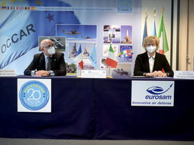 European cooperation in defence Occar contracts Eurosam for SAMP/T NG systems