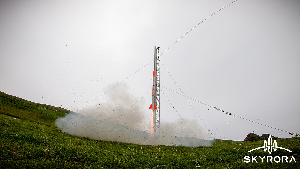 Hattrick for rocket company after first ever launch from Shetland