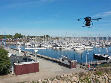 QuadSAT demonstrates on-site radar measurements