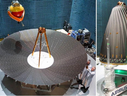 Airbus successfully qualifies Europe´s first five metre deployable reflector for radar satellites