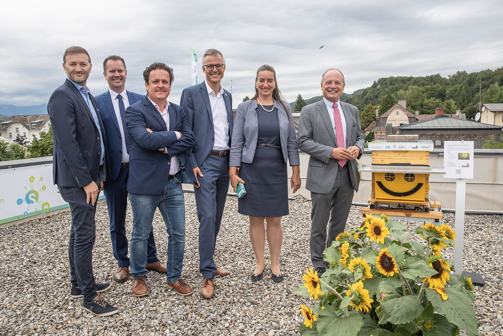 """Drei, ZTE and the Federal State of Carinthia start 5G operations in the digital showcase region """"Wörthersee"""""""