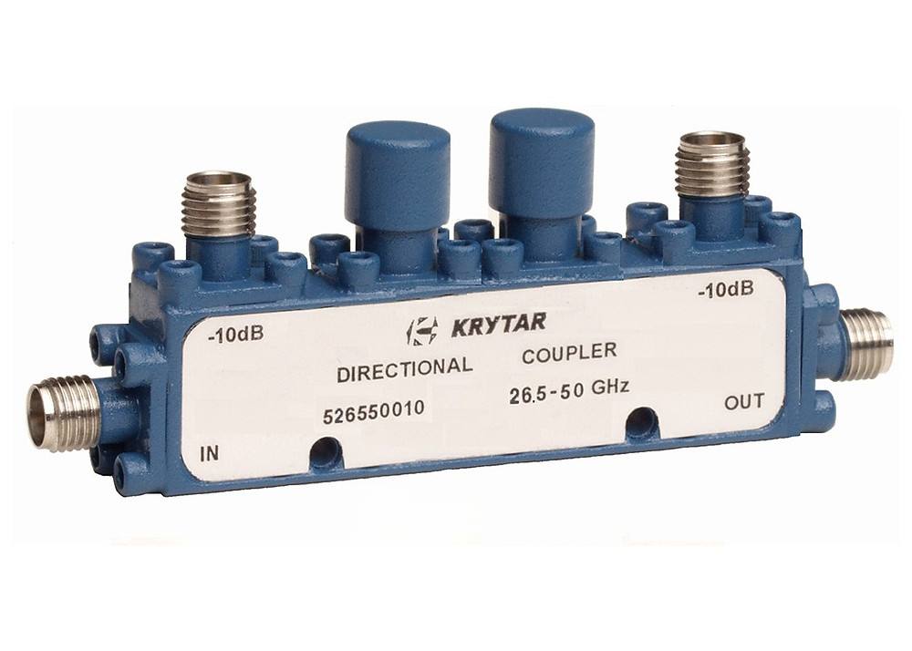KRYTAR announces new dual-directional coupler offers 10 dB coupling over 26.5 to 50 GHz frequency range