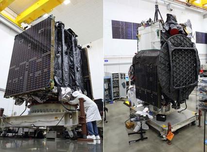 Northrop Grumman's second mission extension vehicle and Galaxy 30 satellite begin launch preparation