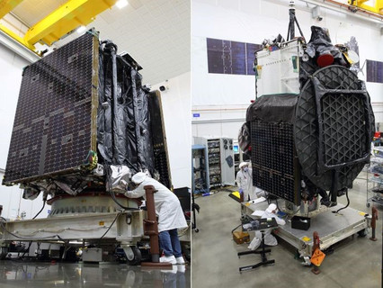 Northrop Grumman's second mission extension vehicle and Galaxy 30 satellite begin launch preparation