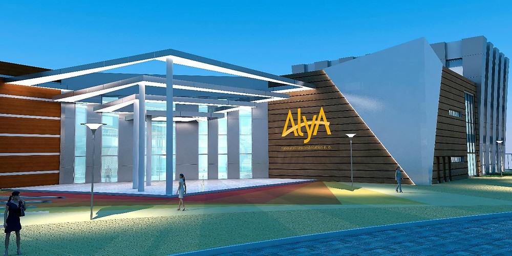 ALYA's project for a Ground Station Center in Tucano – Bahia do Brasil