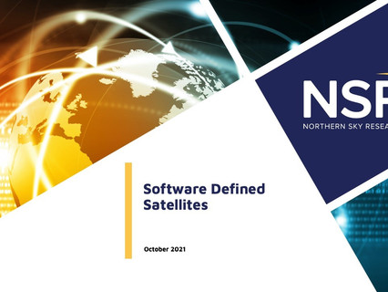 Software-defined satellite trend triggers US$86.9 billion revenue opportunity