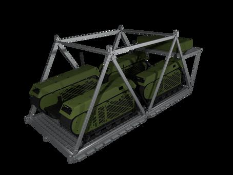 IrvinGQ develops airdrop platform compatible for use with the Milrem Robotics' Unmanned Ground Vehic