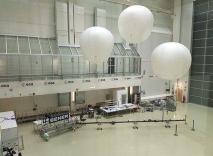 SENER Aeroespacial completes the acceptance test campaign of the JUICE boom