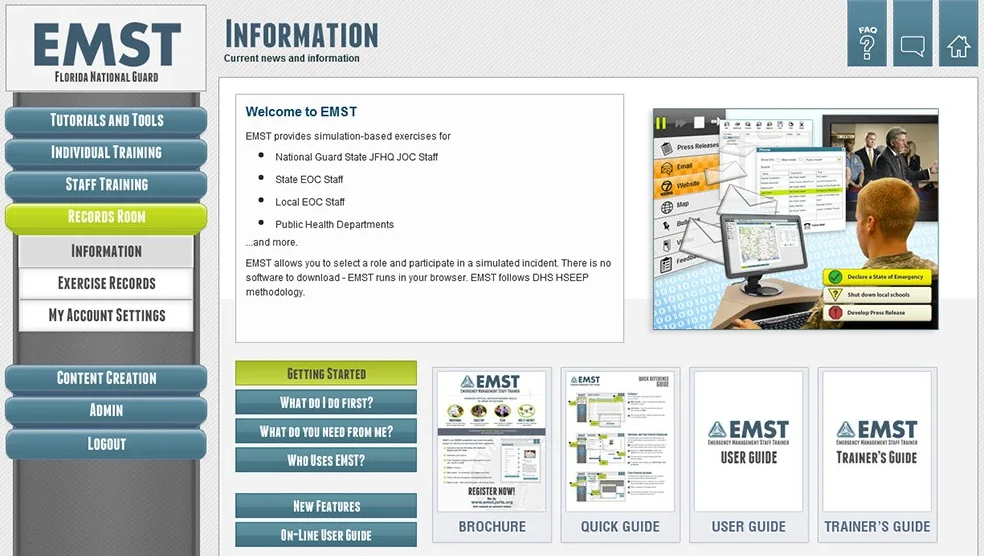 Engineering & Computer Simulations offers virtual emergency management staff trainers to government agencies at no charge to prepare for hurricane season