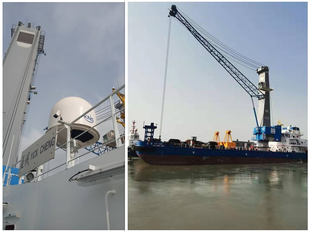 ST Engineering iDirect collaborates with Paratus and KNS to bring reliable, high-speed connectivity to mining vessels