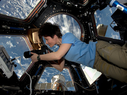 Samantha Cristoforetti will fly to the International Space Station in 2022