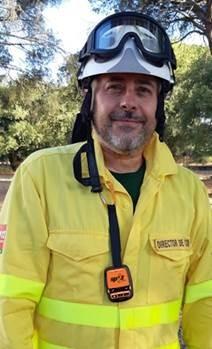 Juan Sanchez, Director of INFOCA Centre of Andalucia with his SPOT Gen3