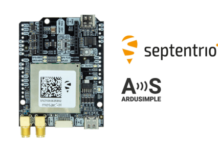 Septentrio partners with ArduSimple, bringing reliable GPS/GNSS to emerging applications